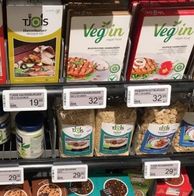 Auswahl im Supermarkt