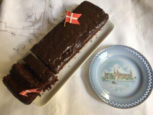 Dänischer Schokoladenkuchen - Rezept von 1900
