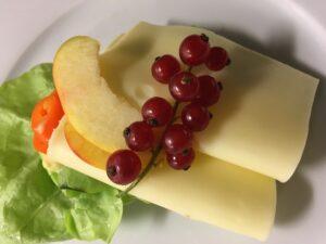 Smørrebrød mit Käse