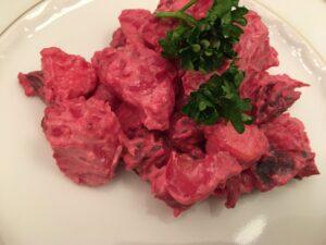 Rote Beete-Salat auf dänische Art