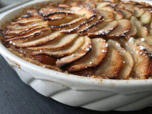 Krydret æbletærte - dänischer Apfelkuchen