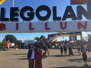 Sommer 2020: Legoland in Billund und Corona....