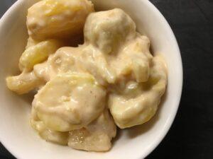 Dänischer fruchtiger Kartoffelsalat