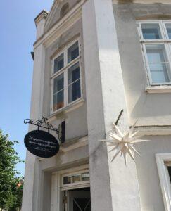 Ein wunderbares Café in Christiansfeld