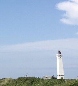 Der Leuchtturm von Blåvand